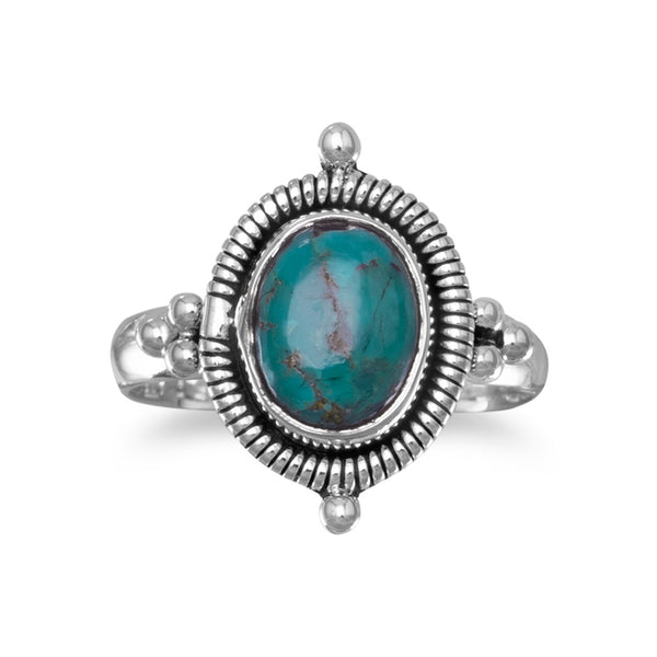 turquoise-and-oxidized-silver-ring/virgo-starlight