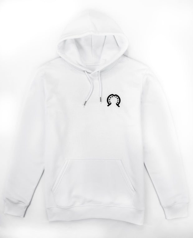 Hook Polo Hoodie - Arctic White