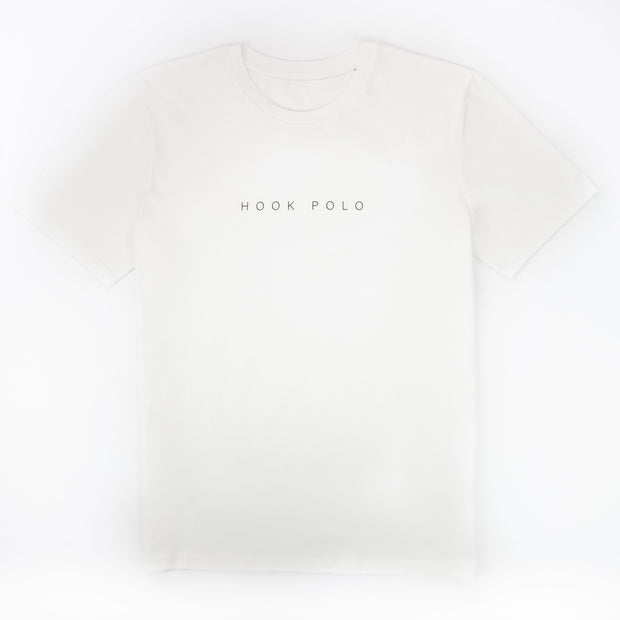 Hook Polo Cotton Tee - Off White