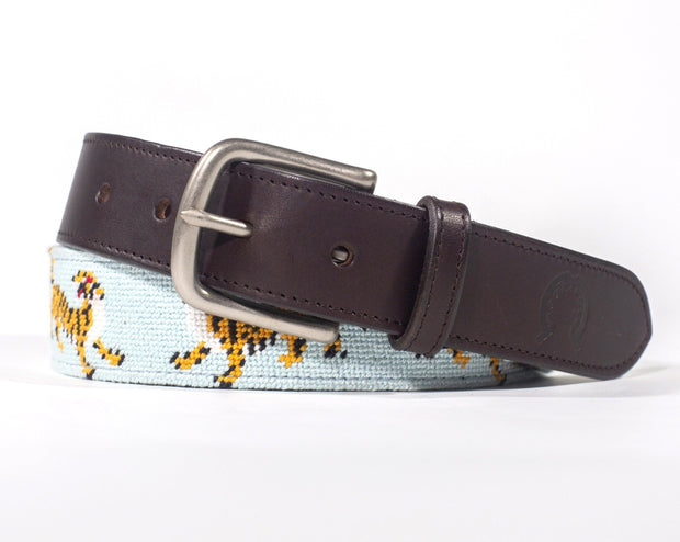 Needlepoint Belt - Tigers