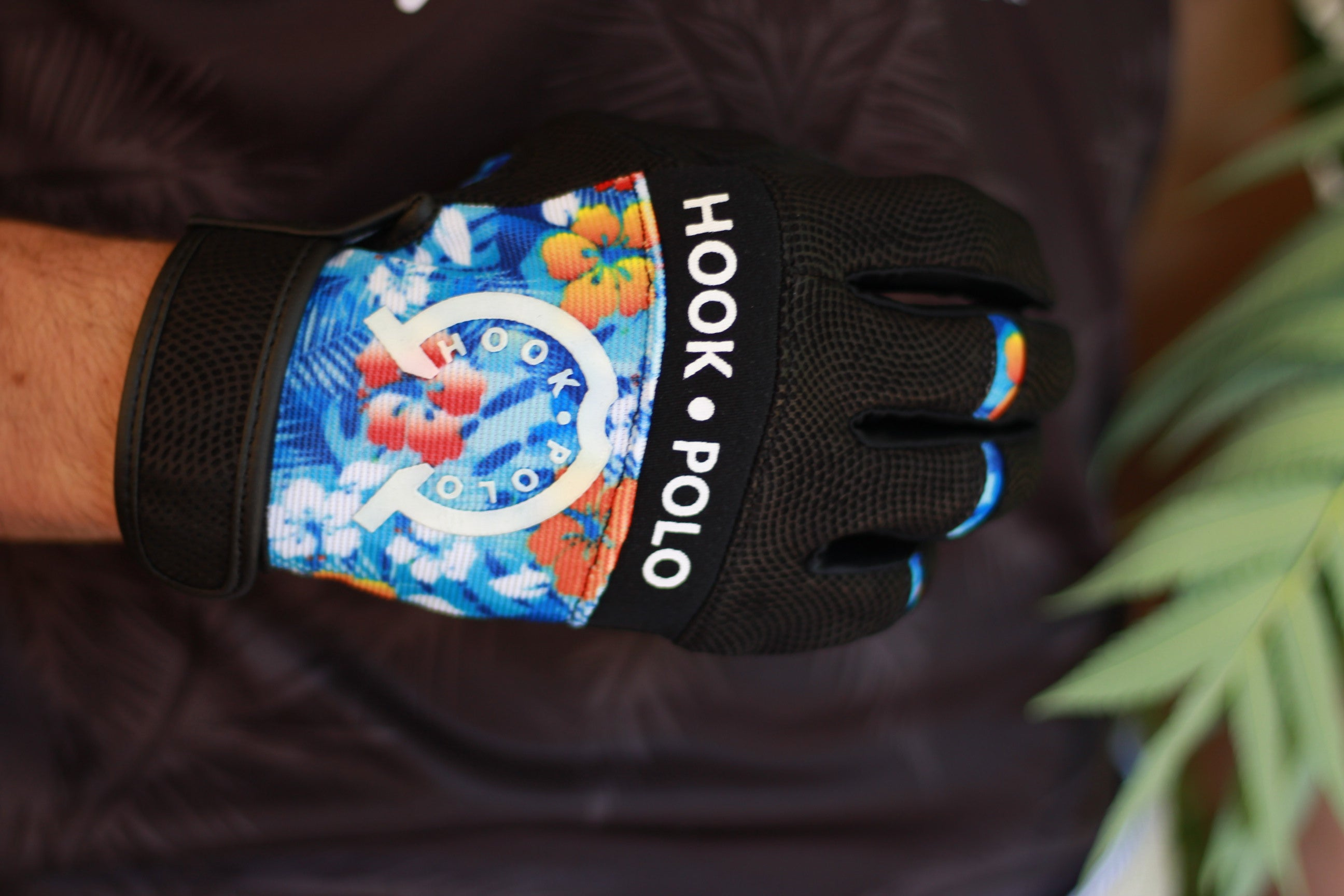 Hawaiian Blue- Black Leather- Right hand only