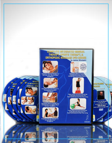 HOLIDAY SPECIAL: Integrated Manual Therapy 7 Pack DVD Set, Elimination Nerve Compression 3 Pack DVD Set,  Plus the Total Body DVD