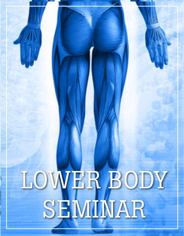 Lower Body Seminar, Santa Ana, CA, July/August 2019