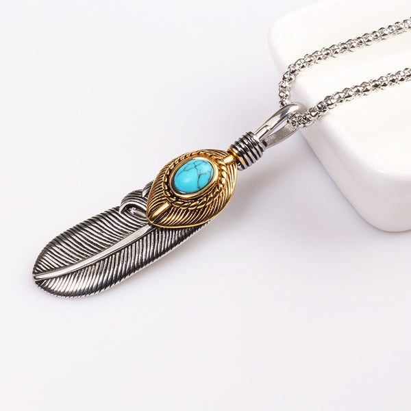 Forever Feather Necklace
