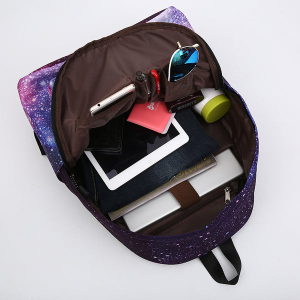Purple Space Backpack