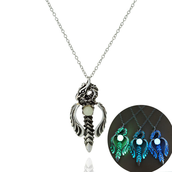 Energy Glow Dragon Necklace