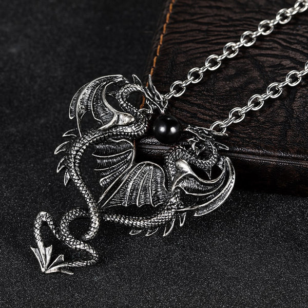 Joint Dragon Necklace