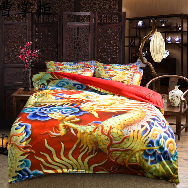 Dragon Bedding Set