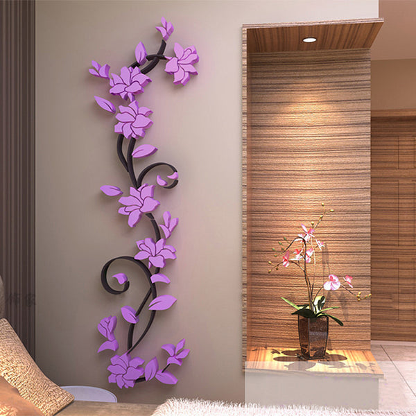 3D Flower Wall Sticker
