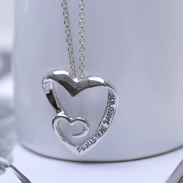 """My Sister, My Friend"" Necklace"