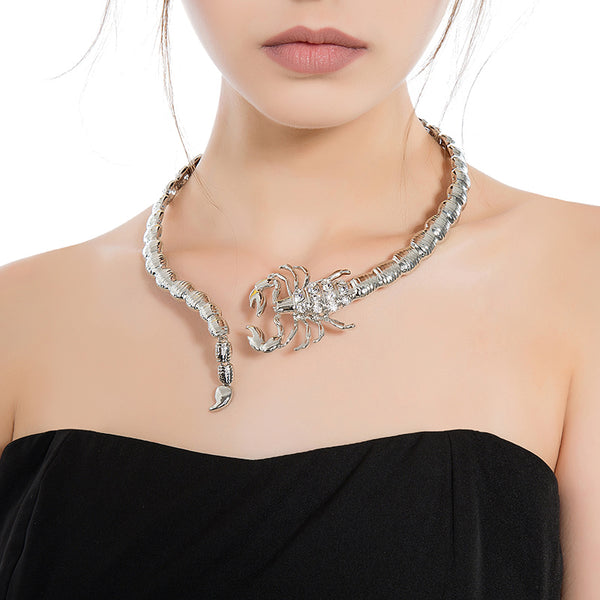 Scorpio Collar Necklace