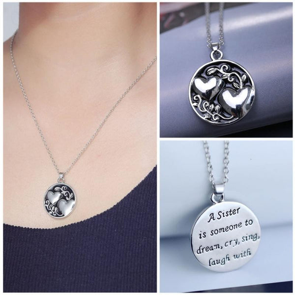 Sister Love Necklace Set
