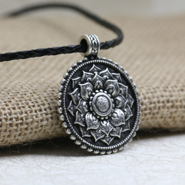 Antique Mandala Necklace