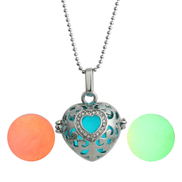 Oil Diffuser Glow Necklace