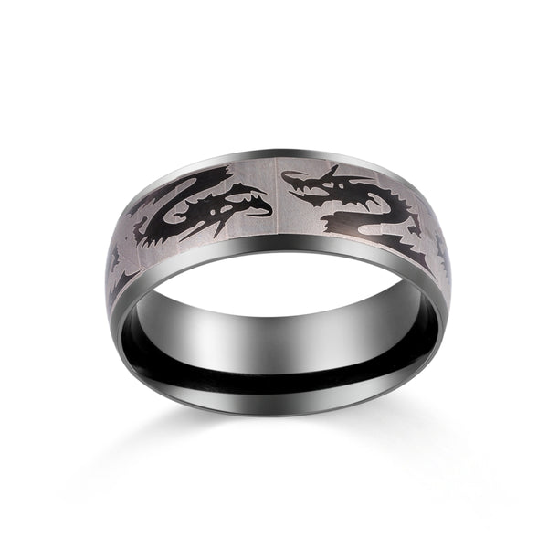 Snapping Dragon Ring