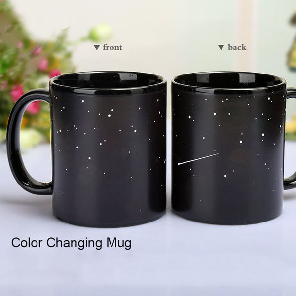 Heat Activated Solar System Mug