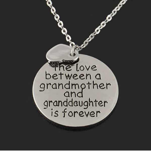 Grandmother-Granddaughter Necklace