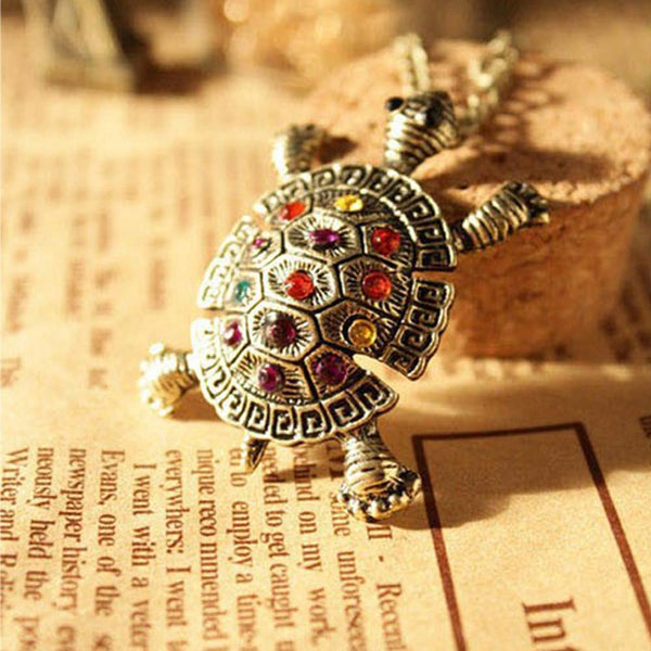 Vintage Turtle Necklace