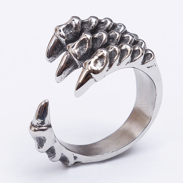 Custom Dragon Claw Ring