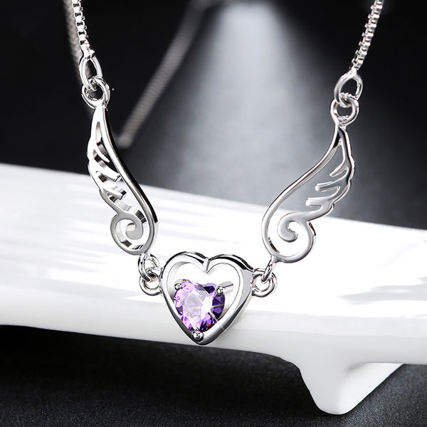 Angelic Amethyst Necklace