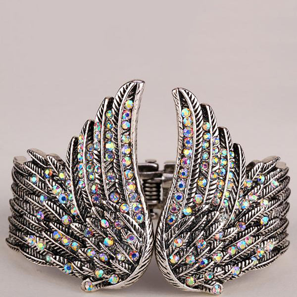 Custom Angel Wing Bracelet
