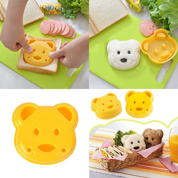 Happy-Bear Sandwich Cutter