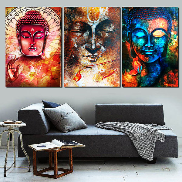 Buddha Canvas Art