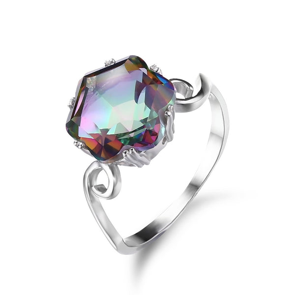 Cryptic Topaz Ring