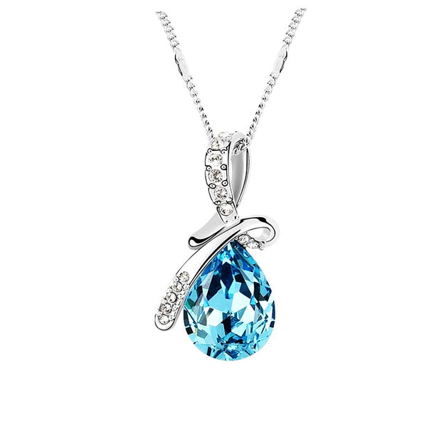 December Crystal Necklace