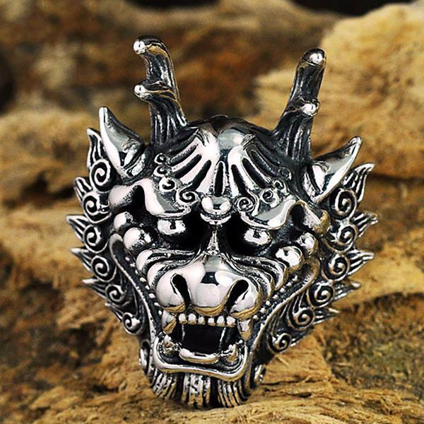 King Dragon Head Ring
