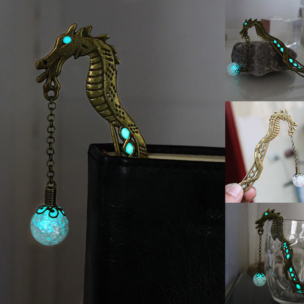 Luminous Dragon Bookmark