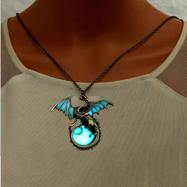 Luminous Dragon Necklace