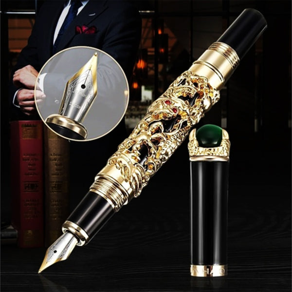 Gold Dragon Fountain Pen