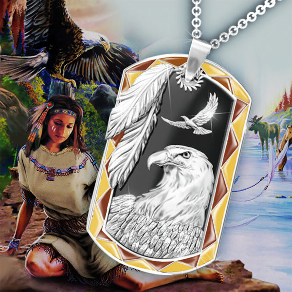 Native Eagle Necklace