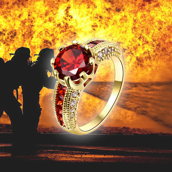 Urgent Firefighter Ring