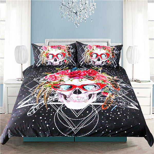 Galactic Skull Bedding Set