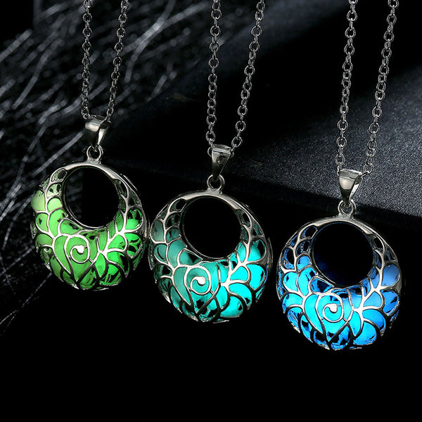 Glow in the Dark Hook Necklace