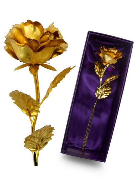 Custom Gold Plated Rose