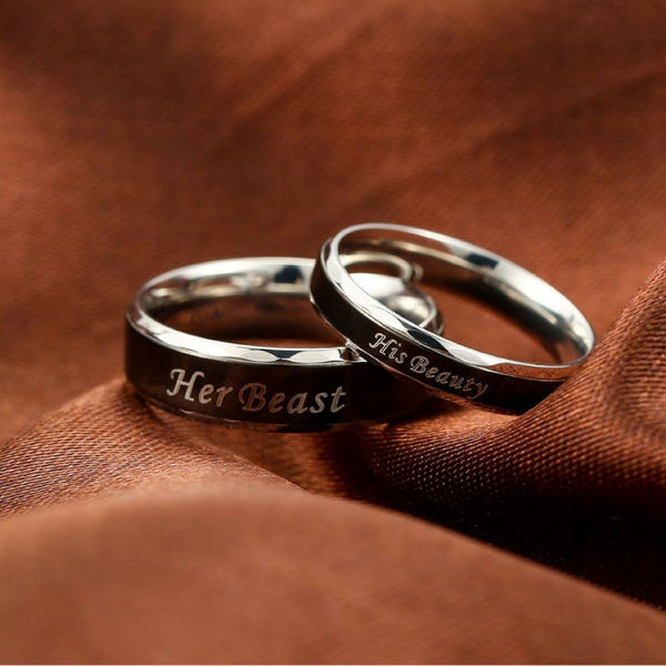 Her Beast - His Beauty Rings