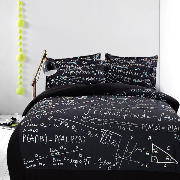 Math Bedding Set