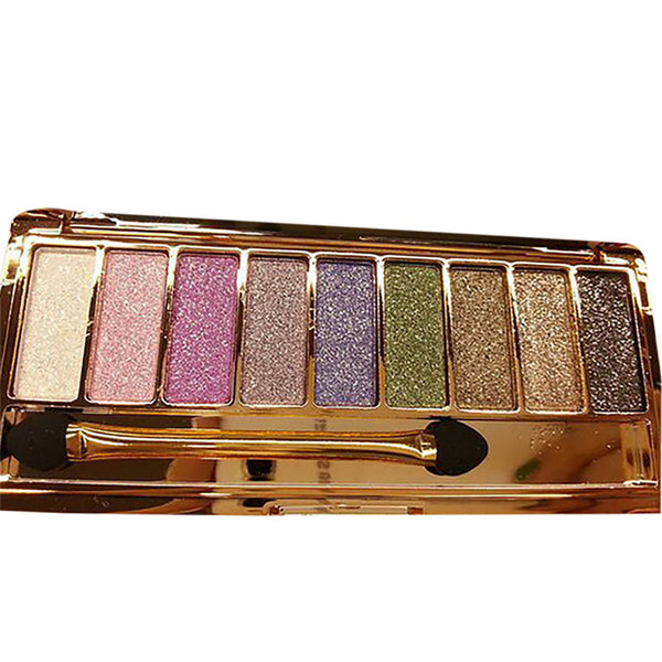 9 Color Waterproof EyeShadow Palette
