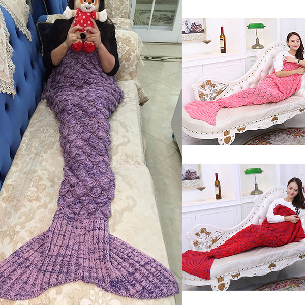 Deep Sea Mermaid Blanket