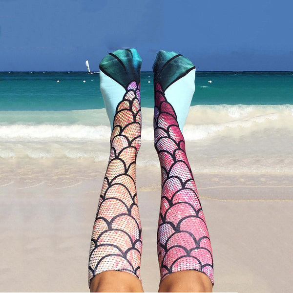 Custom Mermaid Socks