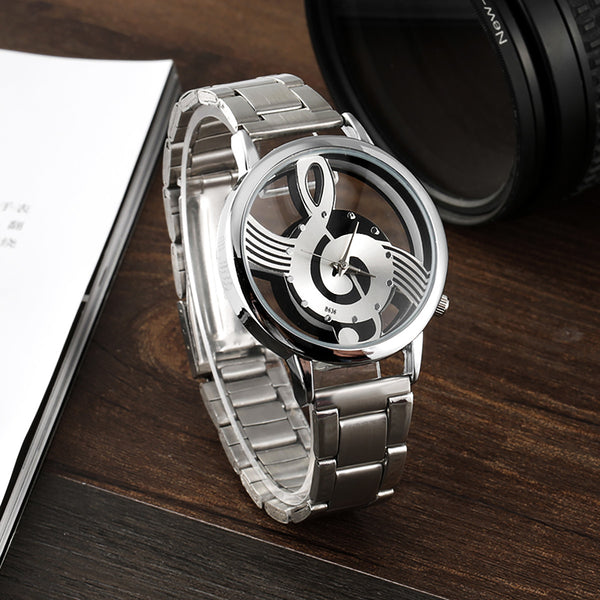 Classic Music Note Watch