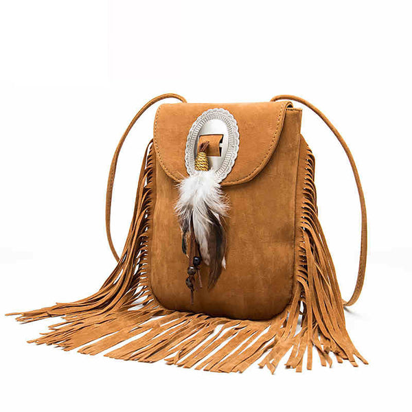Native Feather Bag
