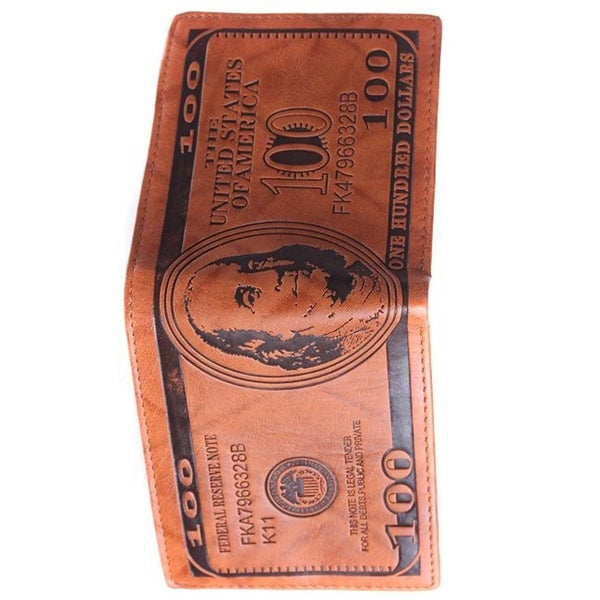 One Hundred Dollar Bill Wallet