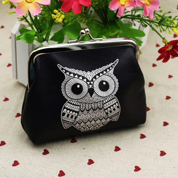 Gazing Owl Purse