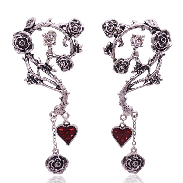 Rose Spine Earrings