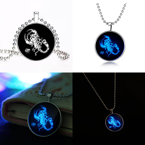Scorpio Glow Necklace