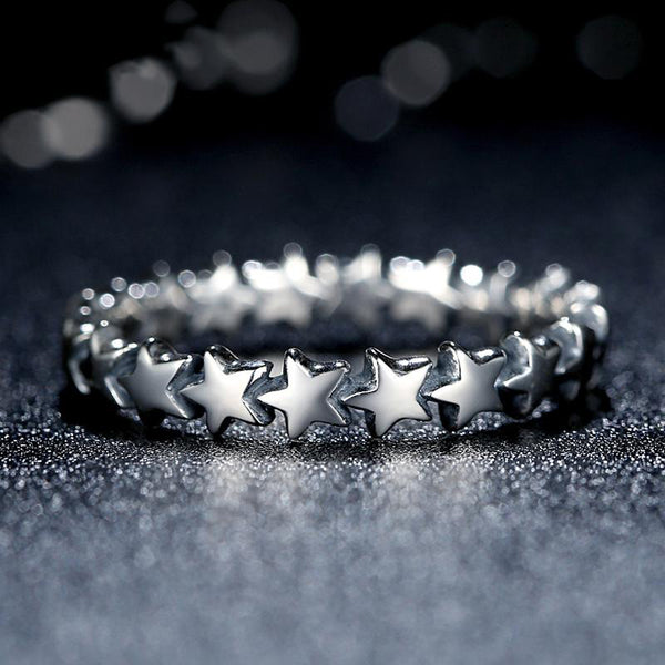 Custom Star Ring
